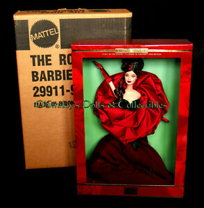 """2001 FLOWERS IN FASHION 1st """"THE ROSE"""" Mackie Barbie Limited Edition #29911_NRFB"""
