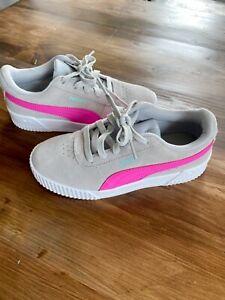 Girls puma trainers size 2
