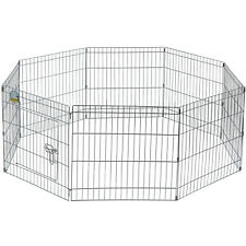 More details for me & my medium folding play pen cage pet dog puppy rabbit garden run out/in door