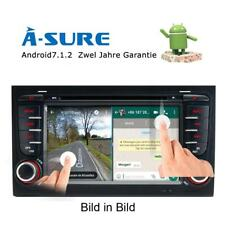 "7"" Android 7.1 DVD GPS Autoradio für AUDI A4 S4 RS4 B6 B7 B8 8E 8H SEAT EXEO DAB"