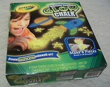 Crayola Washable Sidewalk GLOW Chalk Set; NIB: Summer Toy;Outdoor Play/Fun/Craft