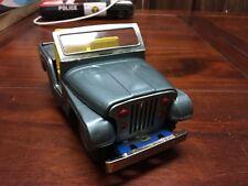 Vintage Japan Tinplate Friction Toy Jeep