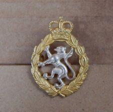 Women's Royal Army Corps Officers Dress uniform Cap Badge Queens Crown Genuine