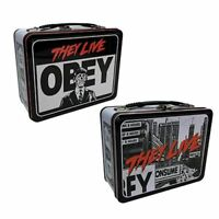 BRAND NEW 2021 Tin Totes They Live Movie Retro Metal Lunch Box