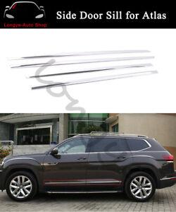 Fit for VW Volkswagen Atlas 2018-2021 Side Door Sills Moulding Trims Protector