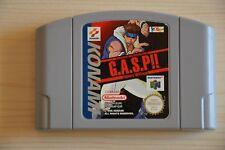 N64 - G.A.S.P. Fighters' NEXTream für Nintendo 64