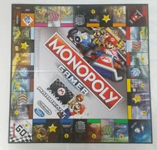Mario Kart Monopoly Gamer - Replacement Folding Game Board And Instructions