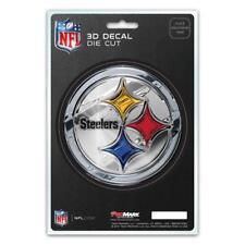 Pittsburgh Steelers Die Cut 3D Logo Decal [NEW] NFL Car Sticker Emblem Truck