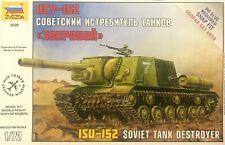Zvezda 5026 ISU-152 Soviet Tank Destroyer scale 1/72