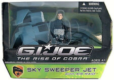 G.I. JOE The Rise of COBRA_SKY SWEEPER JET with AIR RAID figure_New and Unopened