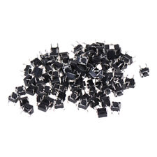 100Pcs 6x6x4.5mm Panel PCB Momentary Tactile Tact Push Button Switch ZY