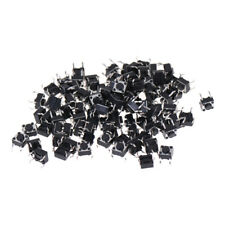 100Pcs 6x6x4.5mm Panel PCB Momentary Tactile Tact Push Button Switch VJ