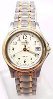 Citizen EU1974-57A Womens Beige Dial Two Tone Steel Bracelet Watch