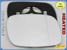 Wing Mirror Glass VOLKSWAGEN TOUAREG 2002-06 Wide Angle HEATED Right Side #1037