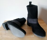 Boots Pedro Miralles Weekend 38 UK 5 Black Suede Leather Excellent Condition