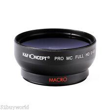 52mm 0.45x Super Wide Angle Macro Conversion Lens for Nikon Canon Olympus Camera