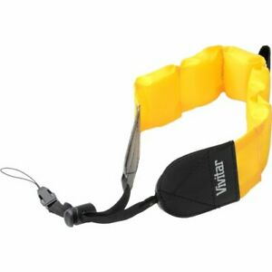 Vivitar Floating Wrist Strap (Yellow) for UnderWater/WaterProof Cameras