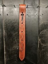 Heavy Duty Leather Off Side Billet Strap - Medium Oil / for Western Saddle