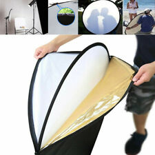 """New 24"""" 5 in 1 Photograph Disc Collapsible Light Reflector Studio Multi Photo Us"""