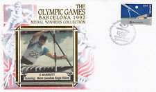 (03771) Espagne Benham Cover Jeux Olympiques conoeing Marriott Barcelone 1992