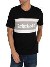 Timberland Men's Colour Block T-Shirt, Black