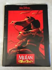 Disney's Mulan Press Kit