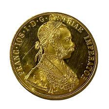 More details for gold austrian 4 ducat 1915