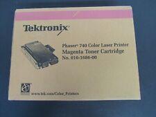 Tektronix Phaser 740 Color Laser Printer Magenta Toner Cartridge No. 016-1686-00