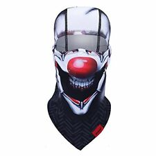 Qinglonglin Balaclava Hand Painted Pattern Full Face Mask for Ski Motorcycle