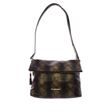 70d5c74920 Elaine Turner Women's Bronze Python Print Leather Ali Shoulder Bag