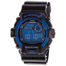CRAZY DEAL NEW CASIO G-SHOCK G8900A-1 BLACK/ BLUE MULTIFUNCTION DIGITAL WATCH