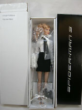 "TONNER MARY JANE WATSON KIRSTEN DUNST 16"" DOLL WAITRESS  MARVEL SPIDERMAN 3 2007"
