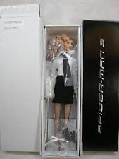 "TONNER MARY JANE WATSON KIRTEN DUNST 16"" DOLL WAITRESS  MARVEL SPIDER-MAN 3 2007"
