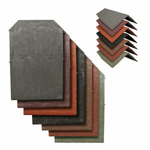 Tapco Synthetic Roof Slate Tile - Conservatory Porch Garage Shed Plastic Shingle