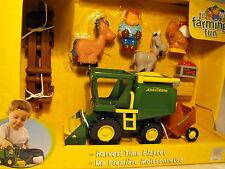 Bebé Niño Toy Juguete Granja Juego John Deere cosecha animales de granja Edad 12 meses +