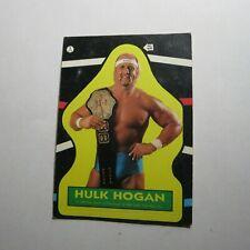 1985 Titan Sports Hulk Hogan  #1 Wrestling Rookie Sticker