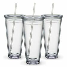 Maars Insulated Travel Tumblers 32 oz.   Double Wall Acrylic   3 Pack