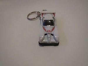 PANOZ GTR-1 GTR1 DIECAST MODEL TOY CAR KEYCHAIN KEYRING NEW WHITE