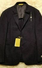 NWT CANALI KEI DECONSTRUCTED NAVY BLAZER BOUCLE WOOL 40 42 CARUSO ISAIA