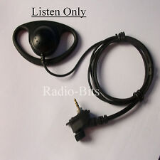 Motorola MTH650 MTH800 MTP850 D Shape Earpiece Listen Only  Police Security