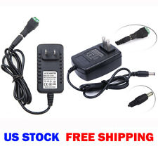 Power Supply Adapter AC/DC 12V 1A 2A for Security Camera CCTV / LED Strip Light