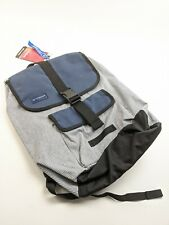 "NEW Timbuk2 Moby 26L Backpack Blue Striped Flaps 15"" Laptop"