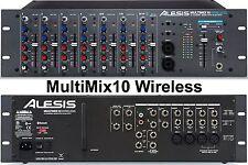 ALESIS MULTIMIX 10 Wireless Rackmount Bluetooth Mixer