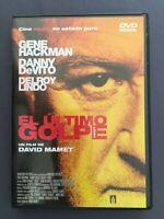 DVD EL ULTIMO GOLPE Gene Hackman Danny DeVito Delroy Lindo Ricky Jay DAVID MAMET