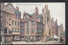 Scotland Postcard - Edinburgh - John Knox's House  RS2104