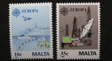 Europa, transport and communications stamps, 1988, Malta, SG ref: 827 & 828, MNH