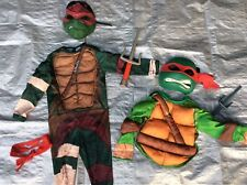 LOT Boy Pretend Play Dress Up Mutant Turtle Halloween Costumes Size 3 4 5 6