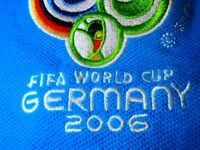 2006 WORLD CUP GERMANY Football Soccer XL Jersey POLO Shirt Authentic ITALIA