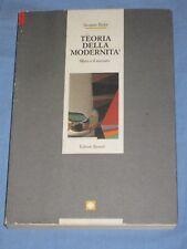 TEORIA DELLA MODERNITA' Marx e il mercato - Jacques Bidet - Editori Riuniti (B5)
