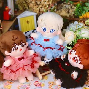 Original Hand-Made Plush 20CM Doll Clothes The Swan Ballet Skirt Outfit Cosplay